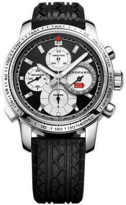 Chopard Mille Miglia Chronograph Limited Edition Stainless Steel Men`s Watch Preowned-168995-3002