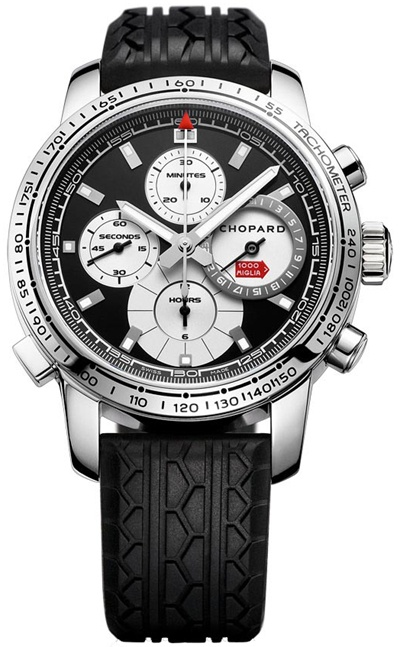 Chopard Mille Miglia Chronograph Limited Edition Stainless Steel Men`s Watch, Preowned-168995-3002