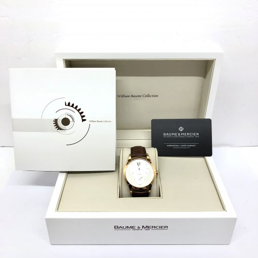 Baume & Mercier William Baume Jumping Hour Limited Edition Men's Wach, Preowned-M0A08857 2