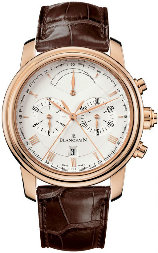 Blancpain Le Brassus Chronograph 18K Rose Gold Men's Watch, Preowned-4246F-3642-55