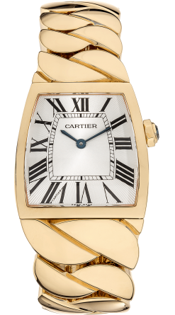 Cartier La Dona 18K Yellow Gold Ladies Watch Preowned-W640010H