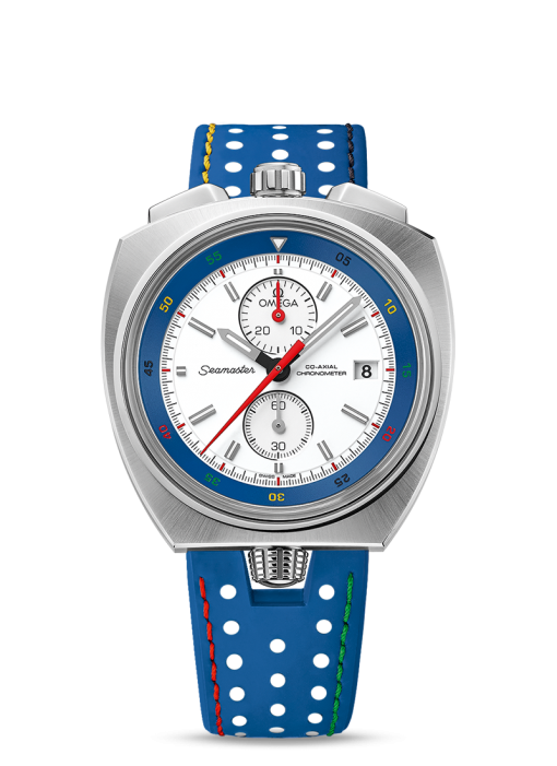 """Omega Seamaster Bullhead """"Rio 2016"""" Limited Edition Stainless Steel Men's Watch, Preowned-522.12.43.50.04.001"""
