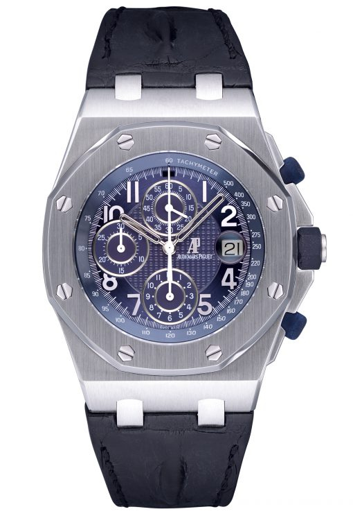 Audemars Piguet Royal Oak Offshore Pride of Russia 18K White Gold Limited Edition Men's Watch (Copy), Preowned-26061BC.OO.D001CR.01
