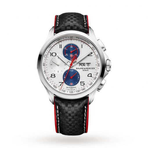 Baume & Mercier Clifton Club Shelby Cobra 44mm Limited Edition Mens Watch, Preowned-M0A10342