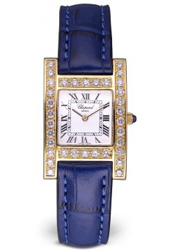 Chopard Your Hour 18K Yellow Gold & Diamonds Ladies Watch Preowned-12/7405
