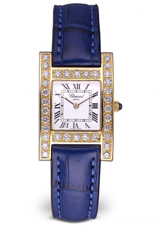 Chopard Your Hour 18K Yellow Gold & Diamonds Ladies Watch, Preowned-12/7405