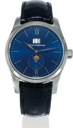 Girard Perregaux Classique Elegance World Time 18K White Gold Men's Watch preowned.49530