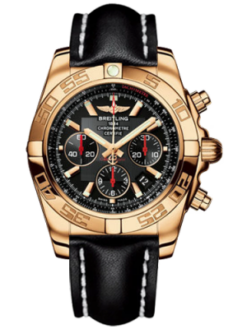 Breitling Chronomat Limited Edition 18K Rose Gold Men's Watch Preowned-HB0111