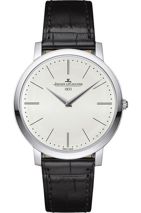 Jaeger-LeCoultre Master Ultra Thin Jubilee Platinum Men's Watch, Preowned-Q1296520
