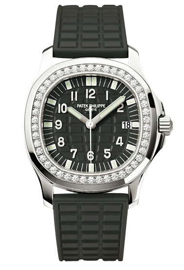 Patek Philippe Aquanaut Stainless Steel & Diamonds Ladies Watch, Preowned-5067A-001