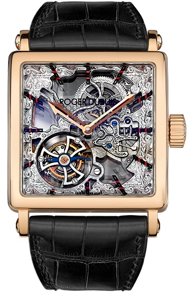 Roger Dubuis Golden Square 18K Rose Gold Limited Edition Men's Watch, Preowned-G40 02SQ 5 V.10A