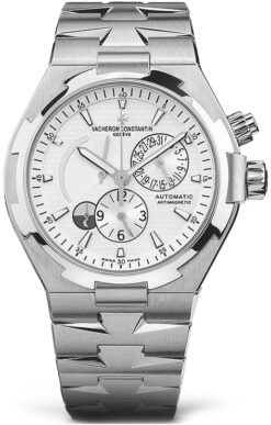 Vacheron Constantin Overseas Dual Time Stainless Steel Men's Watch preowned-47450/B01A-9226