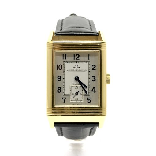 Jaeger LeCoultre Grande Reverso 18K Yellow Gold Men's Watch, Preowned-270.1.62