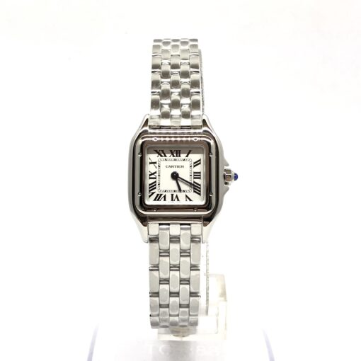 Cartier Panthère Stainless Steel Small Model Ladies Watch, WSPN0006