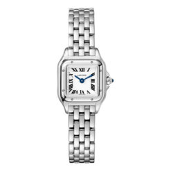 Cartier Panthère Stainless Steel Mini Model Ladies Watch WSPN0019