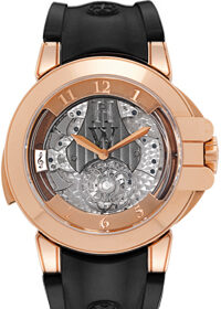 Harry Winston Westminster Minute Repeating Tourbillon 18K Rose Gold Limited Edition Men's Watch Preowned-400-MMTWR45R