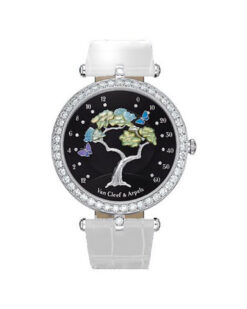 Van Cleef & Arpels Poetic Complication Butterfly Symphony 18K White Gold Ladies Watch… Preowned-VCARN9VG00