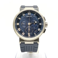 Breguet Marine 5517 Chronograph 18K White Gold Men's Watch Preowned-5527BB/Y2/5WV
