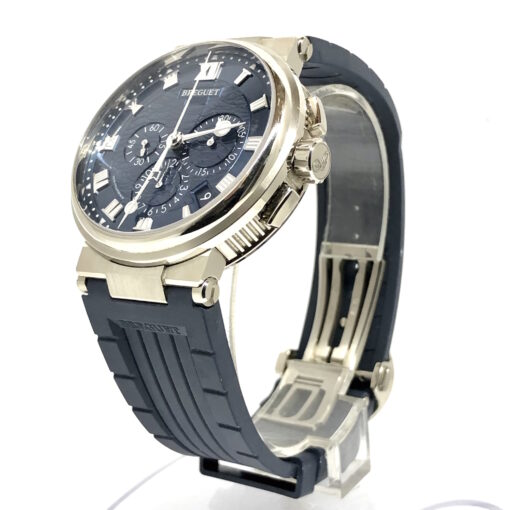 Breguet Marine 5517 Chronograph 18K White Gold Men's Watch, Preowned-5527BB/Y2/5WV 2