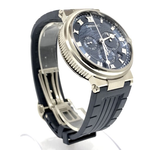 Breguet Marine 5517 Chronograph 18K White Gold Men's Watch, Preowned-5527BB/Y2/5WV 3
