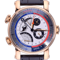 Arnold & Son Instrument Collection True North Perpetual 18K Rose Gold Men's Watch Preowned- 1QPAR.W01A.C40B