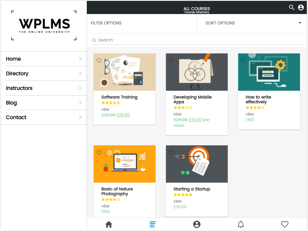 WPLMS Learning Management System App for Education & eLearning - 2
