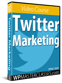 Twitter Marketing - WPMasterclasses.com