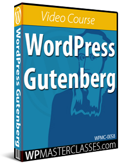 WordPress Gutenberg - WPMasterclasses.com