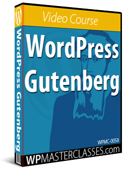 WordPress Gutenberg - WPMasterclasses.com