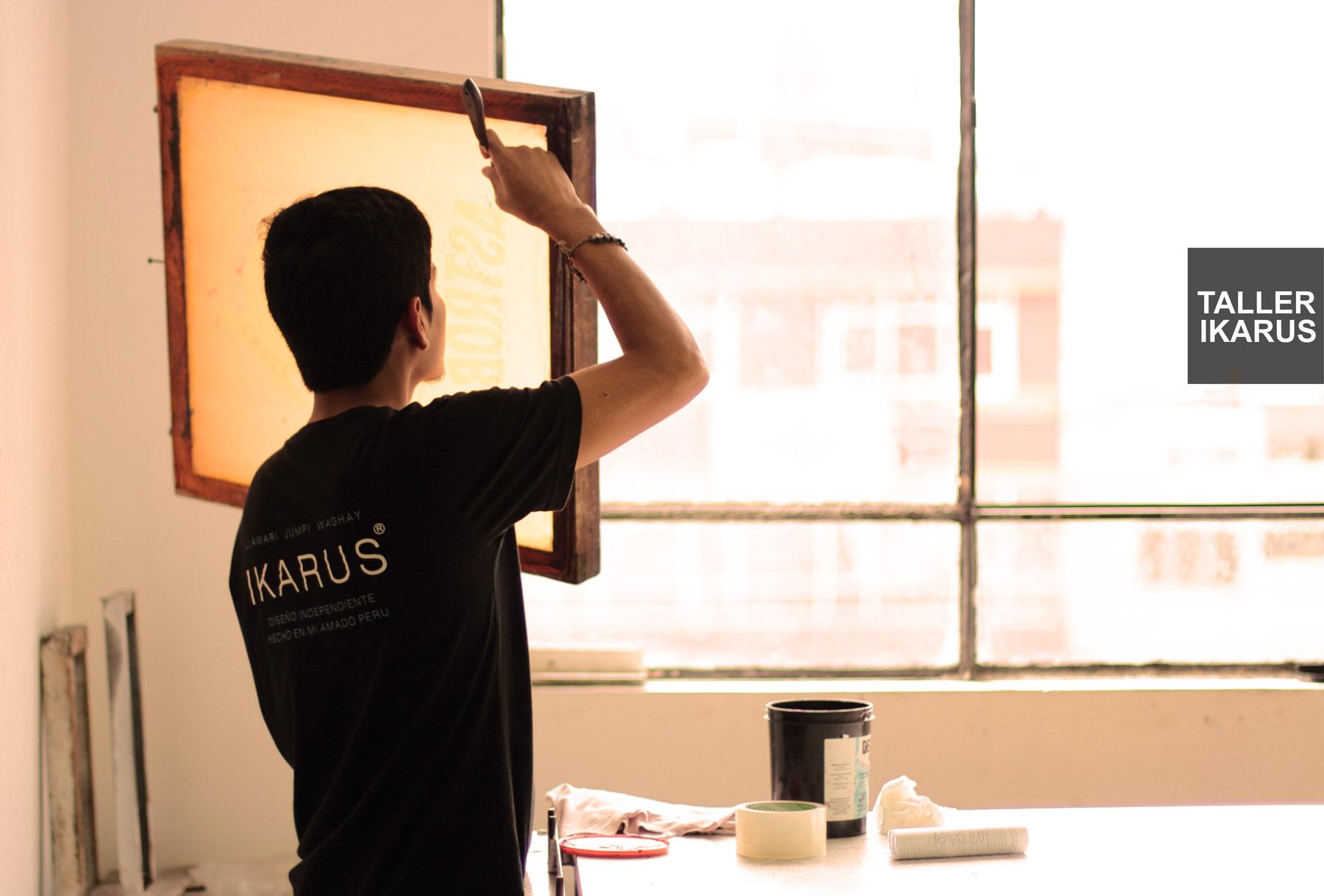 e6150625d3 Trujillo  Curso de Serigrafía Textil (Turno Mañana)   Ikarus Taller