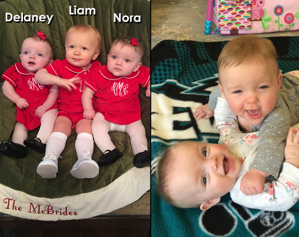 Delaney, Liam, and Nora
