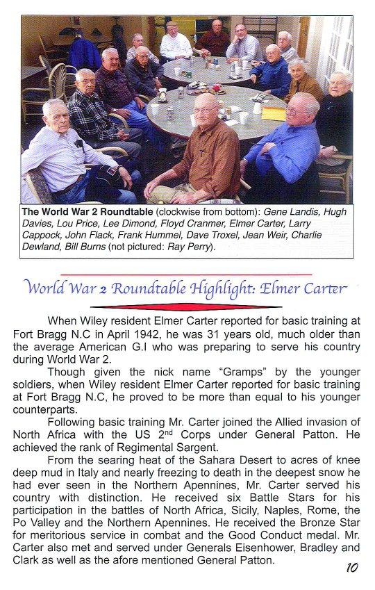 Elmer Carter newspaper article