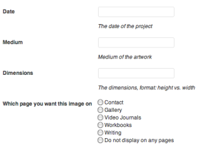 artists wordpress plugin