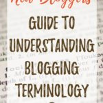 Understanding Blogging Terminology