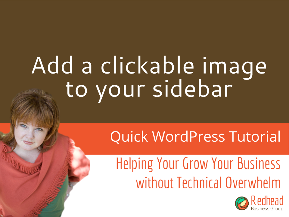 How to make an image clickable in WordPress