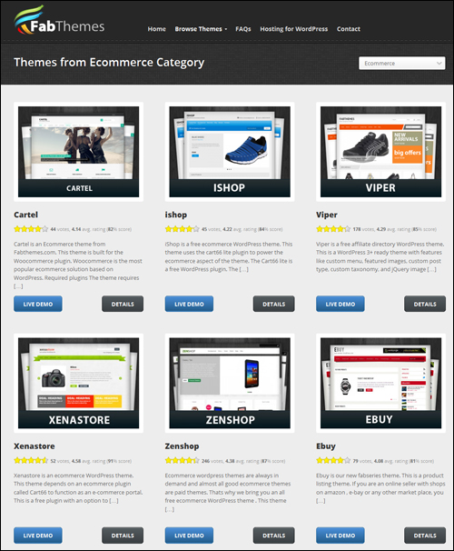 Beautiful WP Website Templates For e-Commerce ⋆ Renee Shupe