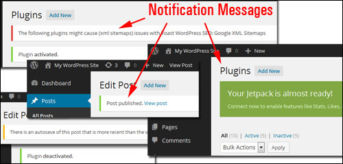 The WordPress Administration Screen - A Step-By-Step Tutorial