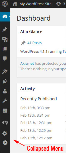 The WordPress Admin Area - An Overview