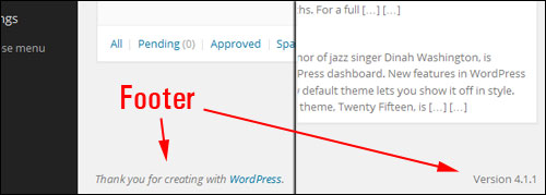 Using Your WordPress Administration Screen