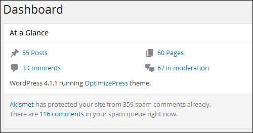 Your WordPress Control Screen - A Step-By-Step Tutorial