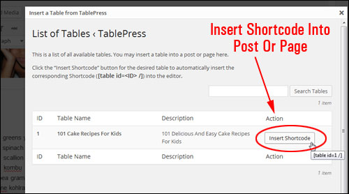 How To Easily Insert Tables Into WordPress Pages And Posts Without Programming Skills