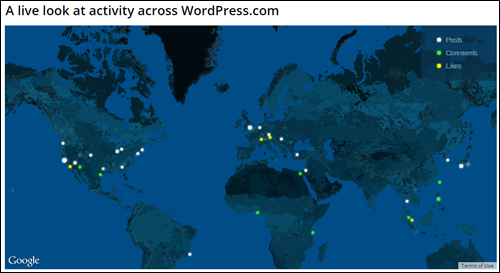 WordPress (Hosted Version) - Activity Woldwide