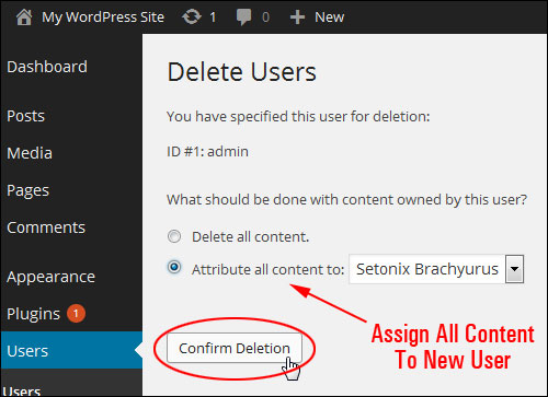 How To Change Your WordPress Admin User Name