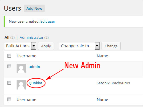 Changing Your WP Username From Admin To A Different Username