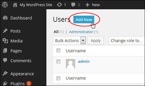 Changing Your WordPress Admin User Name To Another User Name