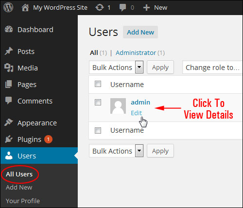 How To Change Your Admin User Name In WordPress