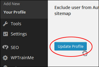 How To Change Your User Profile And Personal Options In WordPress