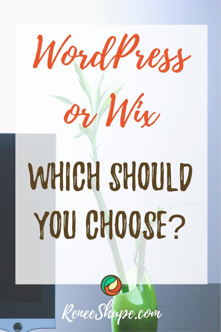 should I use wordpress or wix for my website