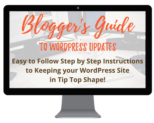 blogger's guide to wordpress updates