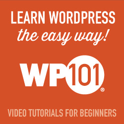Easy WordPress tutorial videos for beginners.